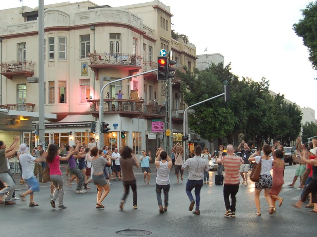 """Dancing in the Streets"" (2011) © Eyal Vexler"