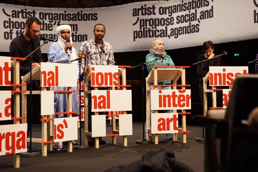 """""""Artist Organisations International"""" (2015) © Lidia Rossner"""